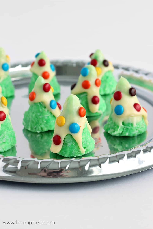 No Bake Holiday Cookies  No Bake Christmas Tree Cookies The Recipe Rebel