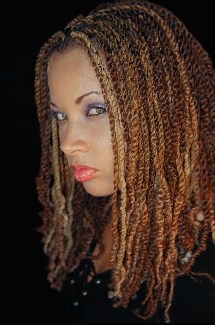 Nubian Twist Crochet Hairstyles  17 Best images about Braids on Pinterest