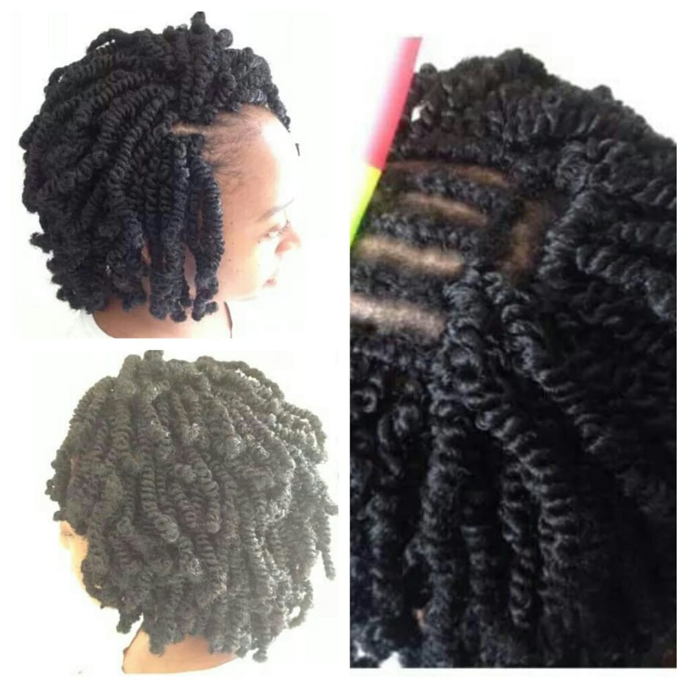 Nubian Twist Crochet Hairstyles  Nubian twists crochet braids Yelp