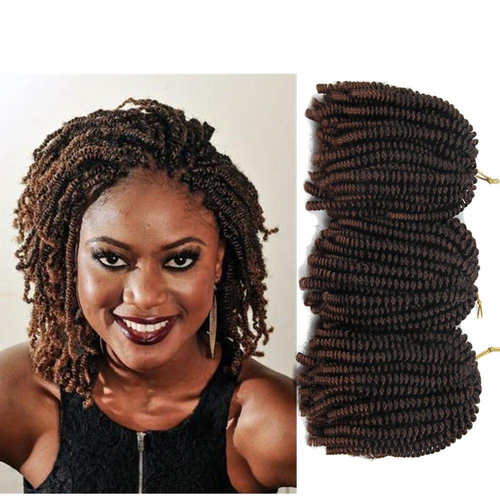 Nubian Twist Crochet Hairstyles  2019 30strands Pack 8Inch Afro Hair Nubian Kinky Nubian