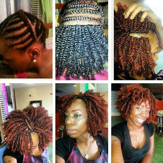 Nubian Twist Crochet Hairstyles  Yes I do my own hair by me crochet nubian twist Ella