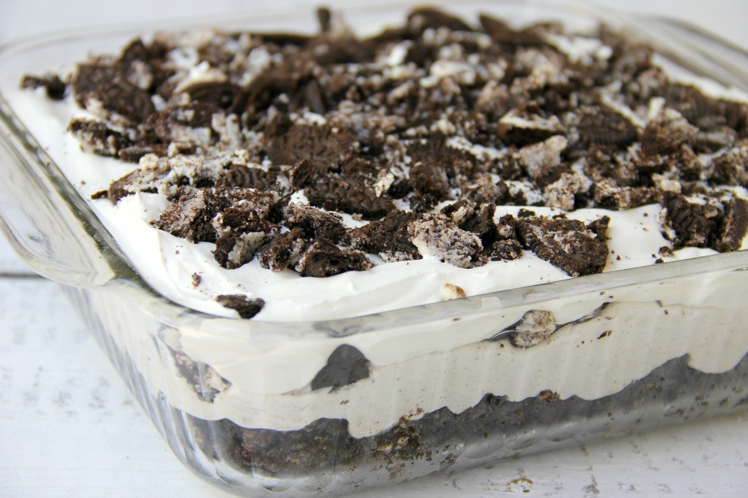 Oreo Dessert With Cool Whip  Cookies and Cream Oreo Dessert Bitz & Giggles