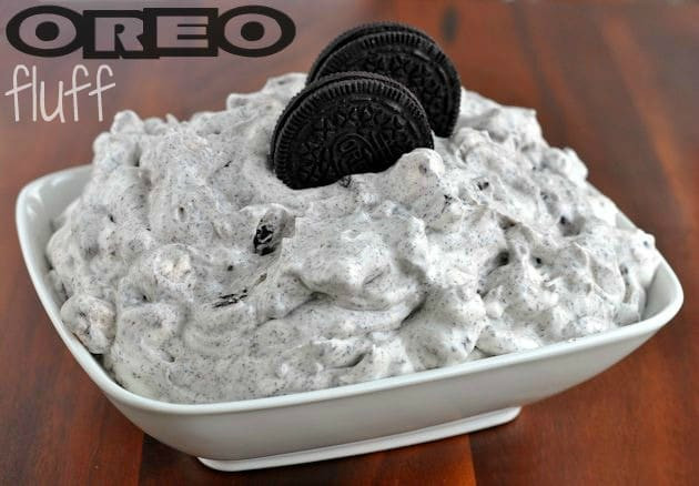Oreo Dessert With Cool Whip  OREO Fluff No Bake White Chocolate Recipe MomDot