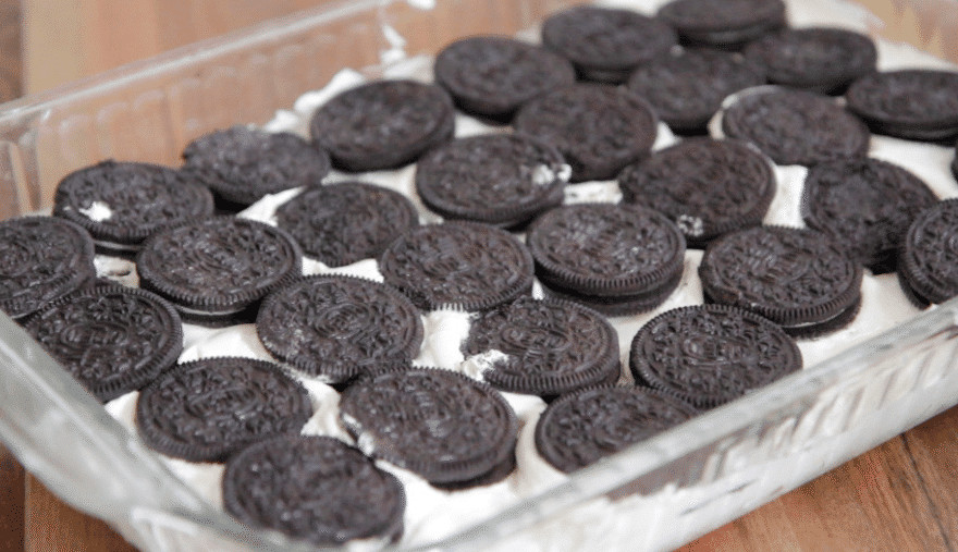 Oreo Dessert With Cool Whip  Easy Oreo Ice Box Cake Recipe 4 Ingre nts Cool Whip