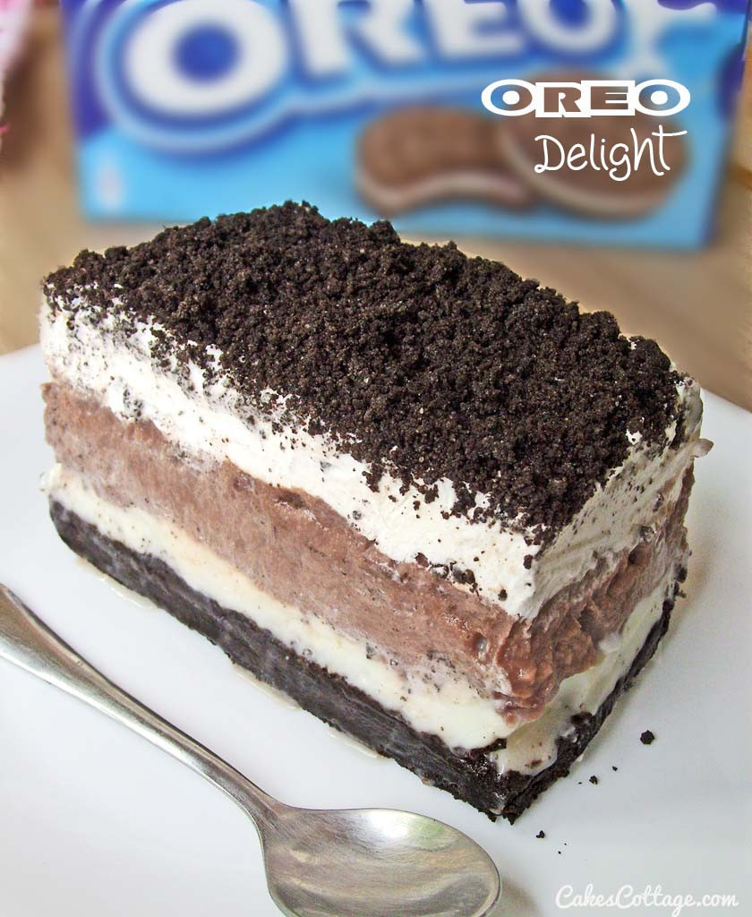Oreo Dessert With Cool Whip  Oreo Delight with Chocolate Pudding Cakescottage