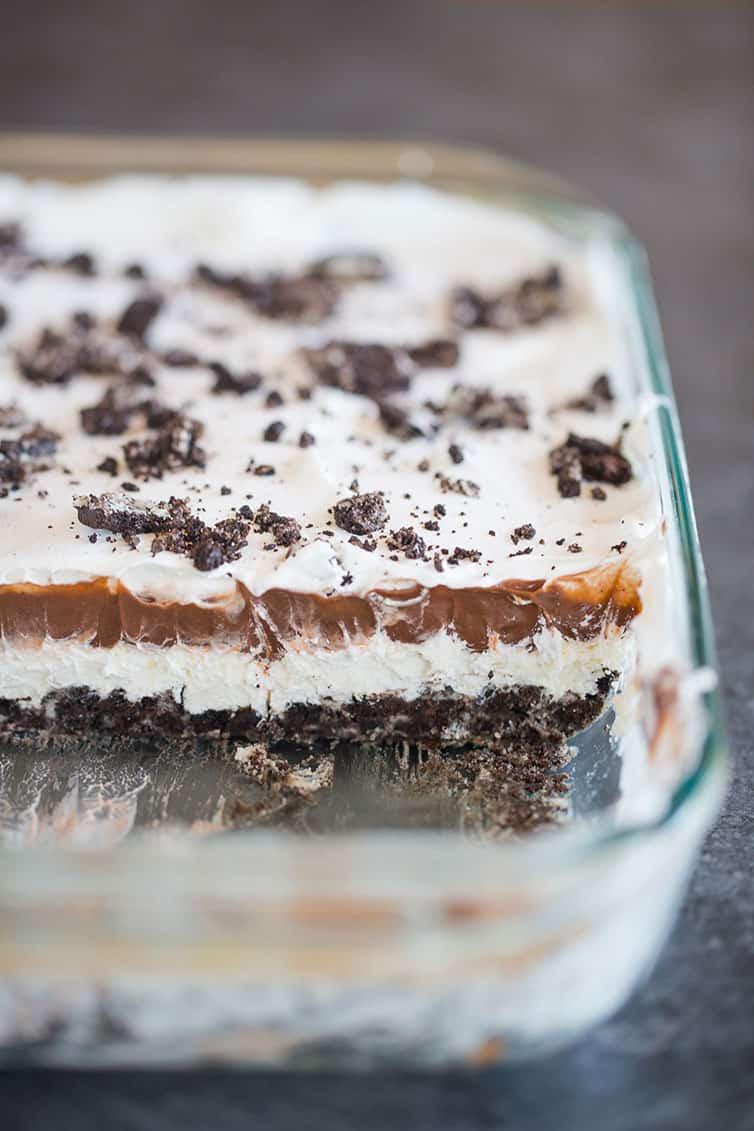 Oreo Dessert With Cool Whip  No Bake Heavenly Oreo Dessert