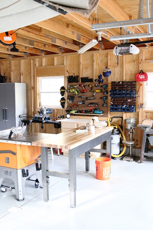 Organize Garage Workshop  Top 8 Tips on How To Organize Your Garage or Shop My