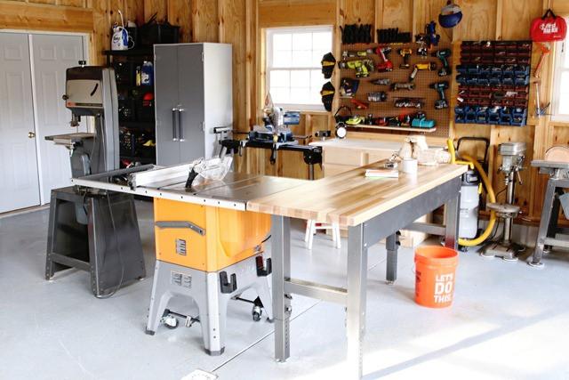 Organize Garage Workshop  Garage Organizing Tips Finding Home Farms
