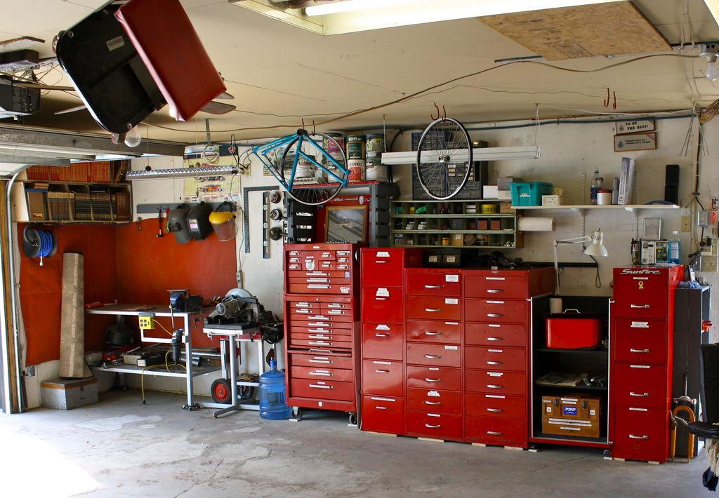 Organize Garage Workshop  Garage Workshop Tools Reno & Organization