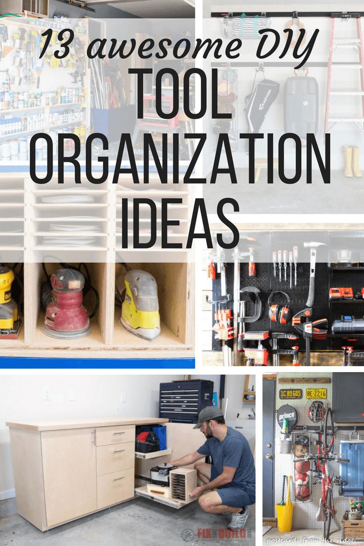 Organize Garage Workshop  Tool Organization Ideas For Your Garage Love & Renovations