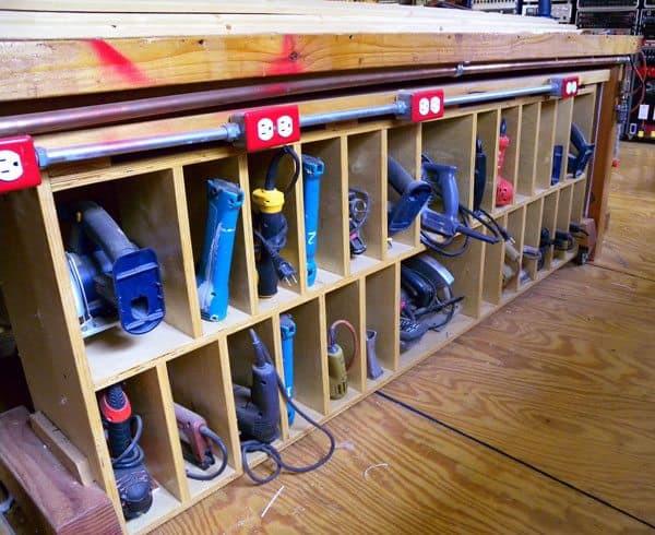 Organize Garage Workshop  How To Build the Ultimate Garage Workshop