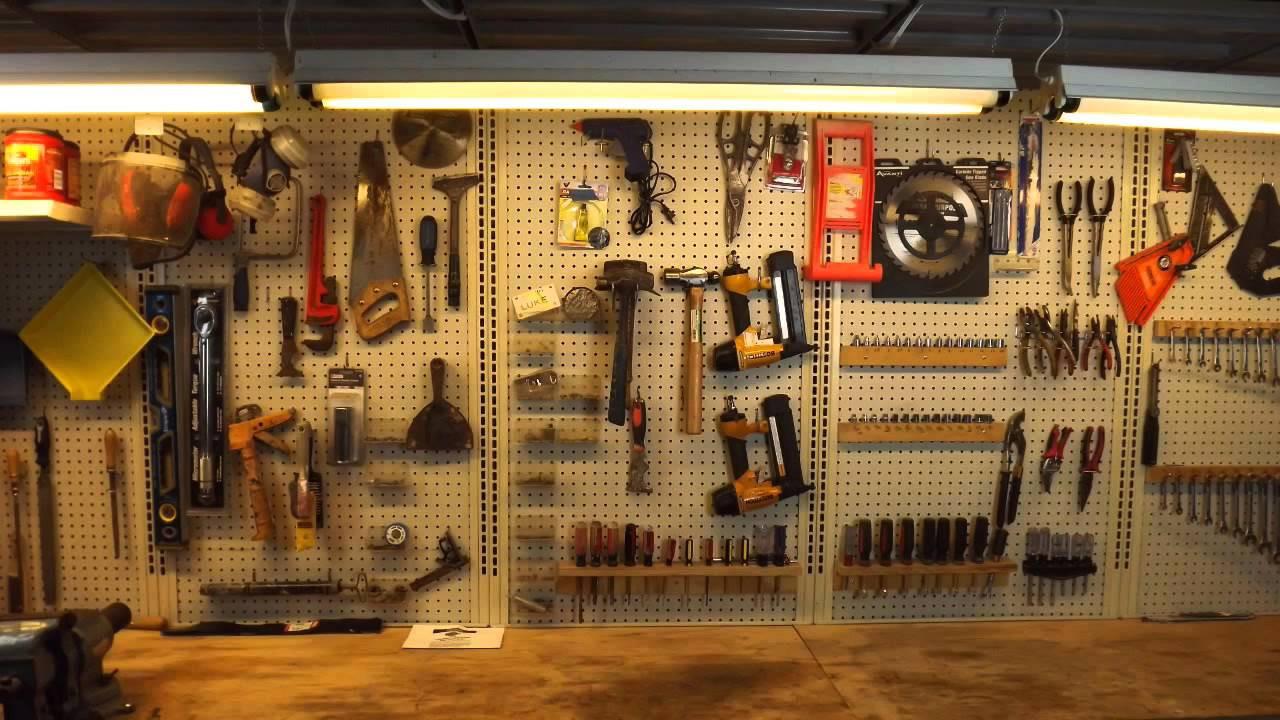 Organize Garage Workshop  Ways to Organize a Workshop