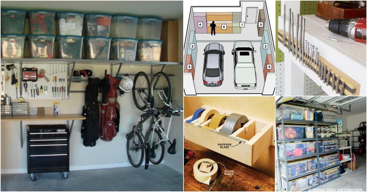 Organize Garage Workshop  49 Brilliant Garage Organization Tips Ideas and DIY