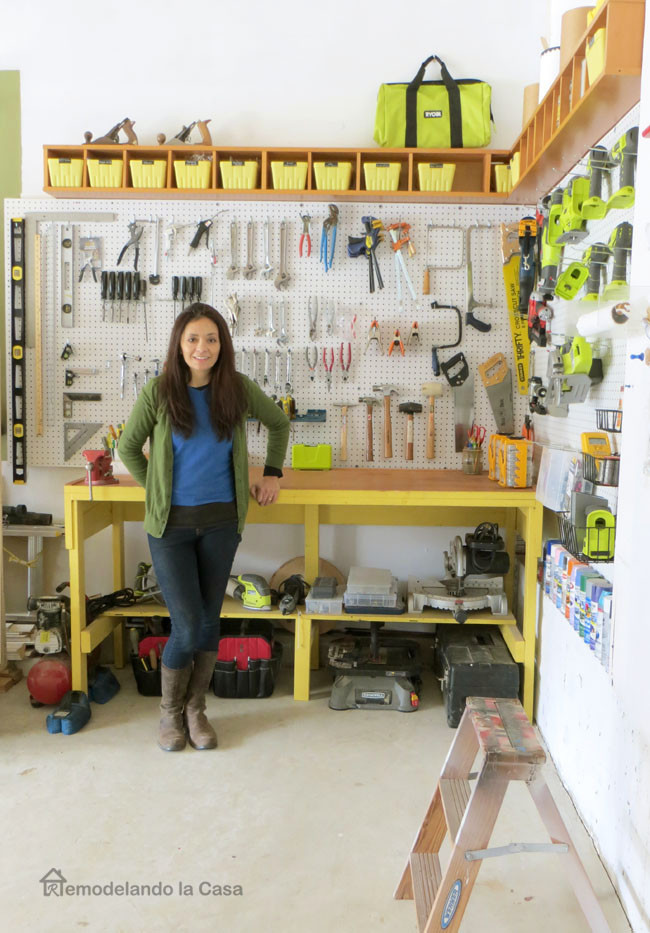 Organize Garage Workshop  Garage Organization How to Install a Pegboard