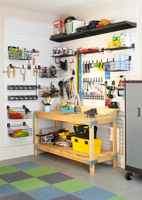 Organize Garage Workshop  Tips to Organize your Garage in time for Father s Day