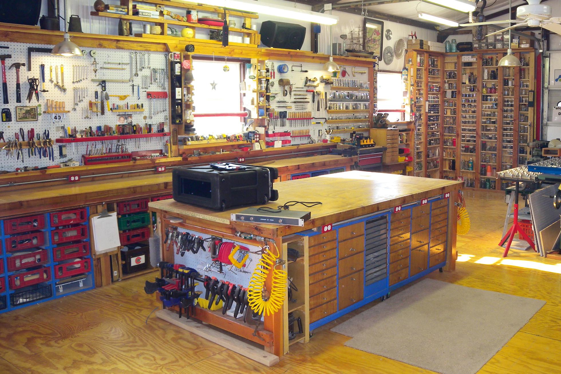 Organize Garage Workshop  Garage Organization & Storage Ideas