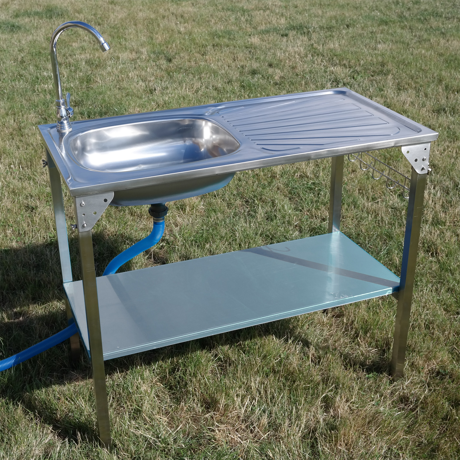 Outdoor Camping Kitchen With Sink  Kitchen Sink Camping Unit Folding Barbecue BBQ Tap Outdoor