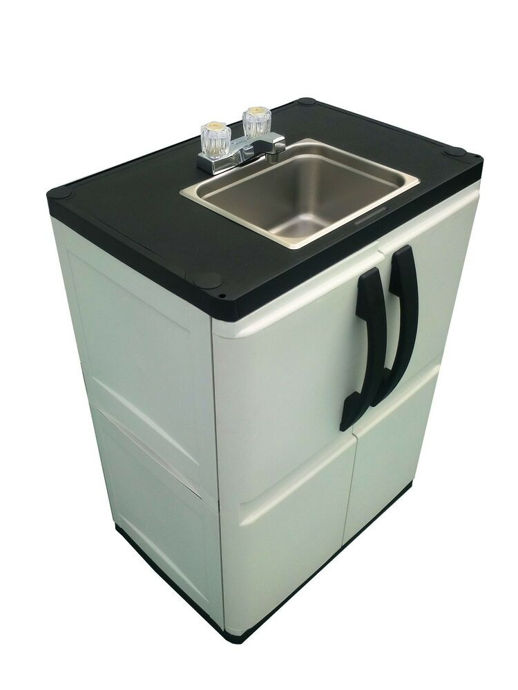 Outdoor Camping Kitchen With Sink  Portable Outdoor Sink Garden Camp Kitchen Camping RV