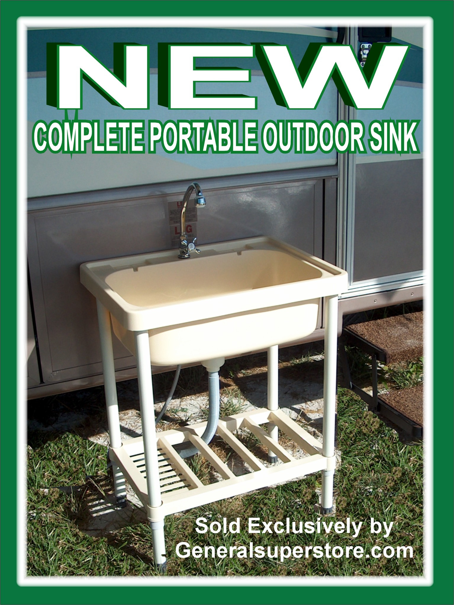 Outdoor Camping Kitchen With Sink  Shoppers Also Viewed Powered by Pic ProductMatch™
