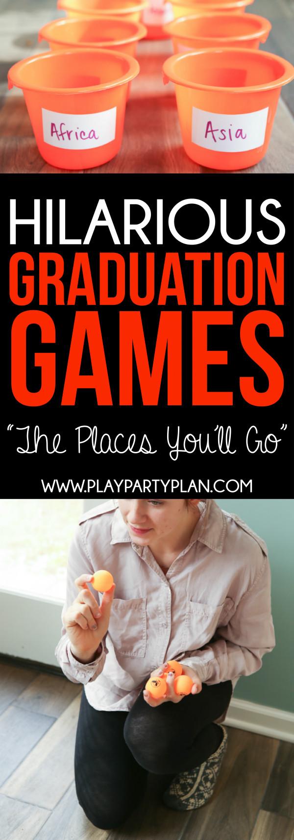 Outdoor Graduation Party Game Ideas  Hilarious Graduation Party Games