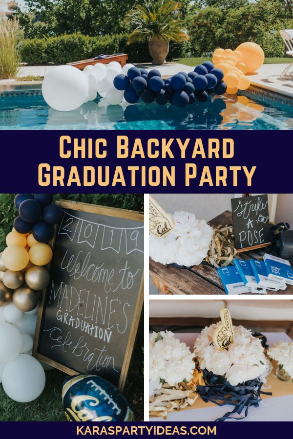 Outdoor Graduation Party Game Ideas  Chic Backyard Graduation Party