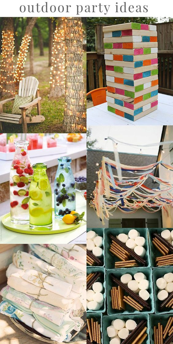 Outdoor Graduation Party Game Ideas  Outdoor parties Party ideas and DIY ideas on Pinterest