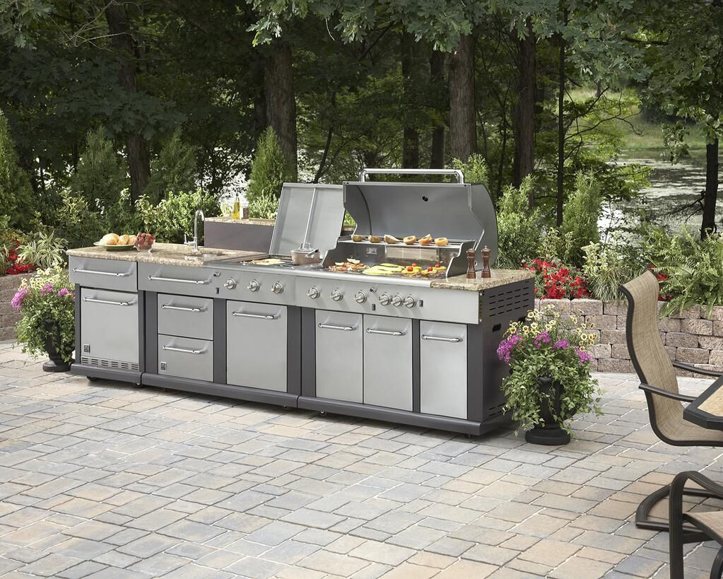 Outdoor Kitchen Lowes  Lowe s on Oasis in 2019
