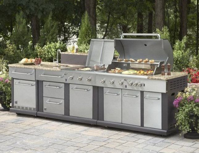 Outdoor Kitchen Lowes  outdoor kitchen kits lowes Dengan gambar