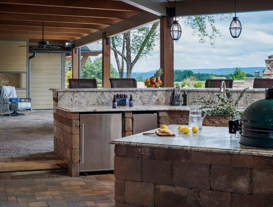 Outdoor Kitchen Omaha  Top Trends in Outdoor Kitchens