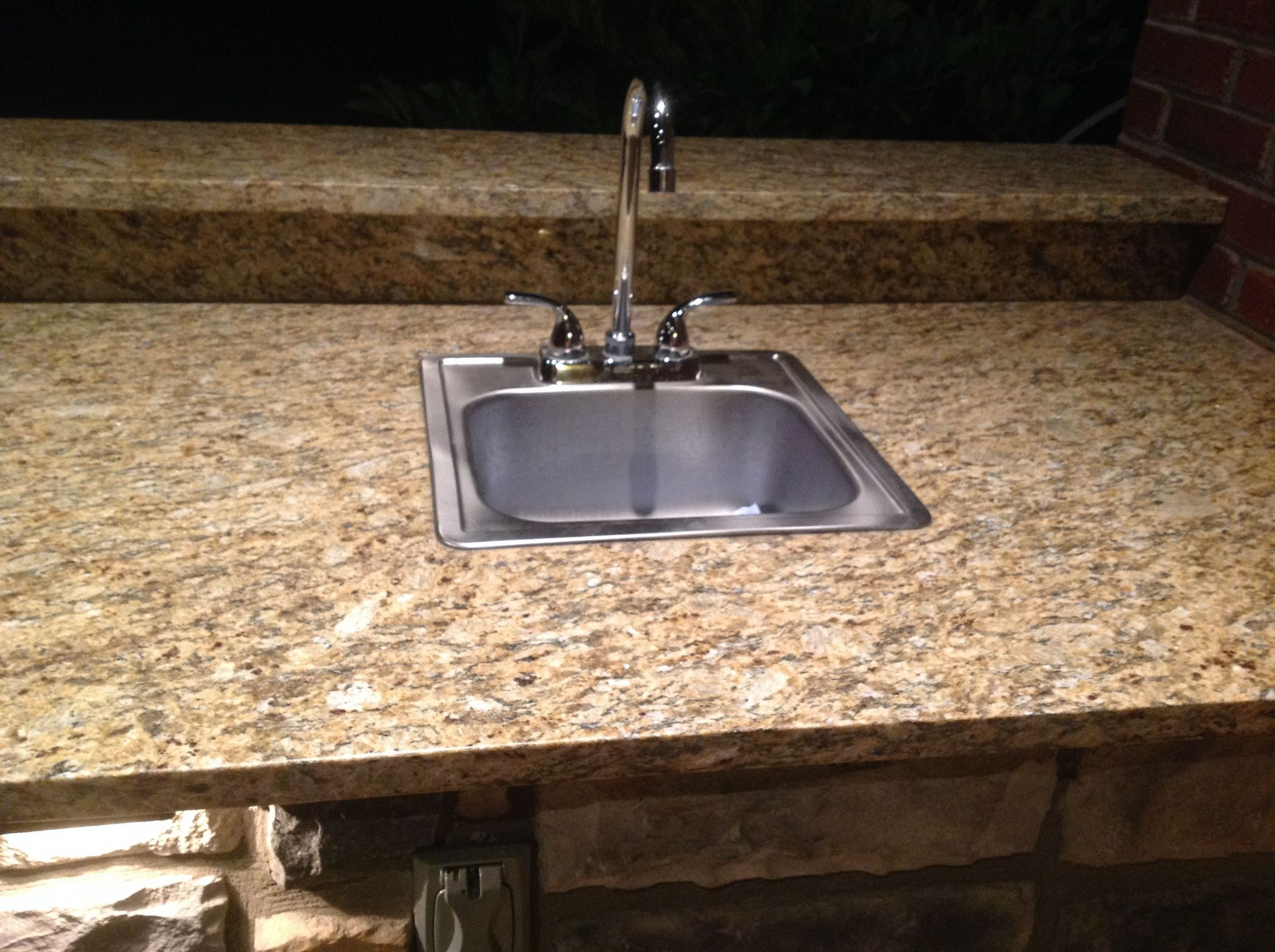 Outdoor Kitchen Sink  Outdoor Design Build Just another WordPress weblog
