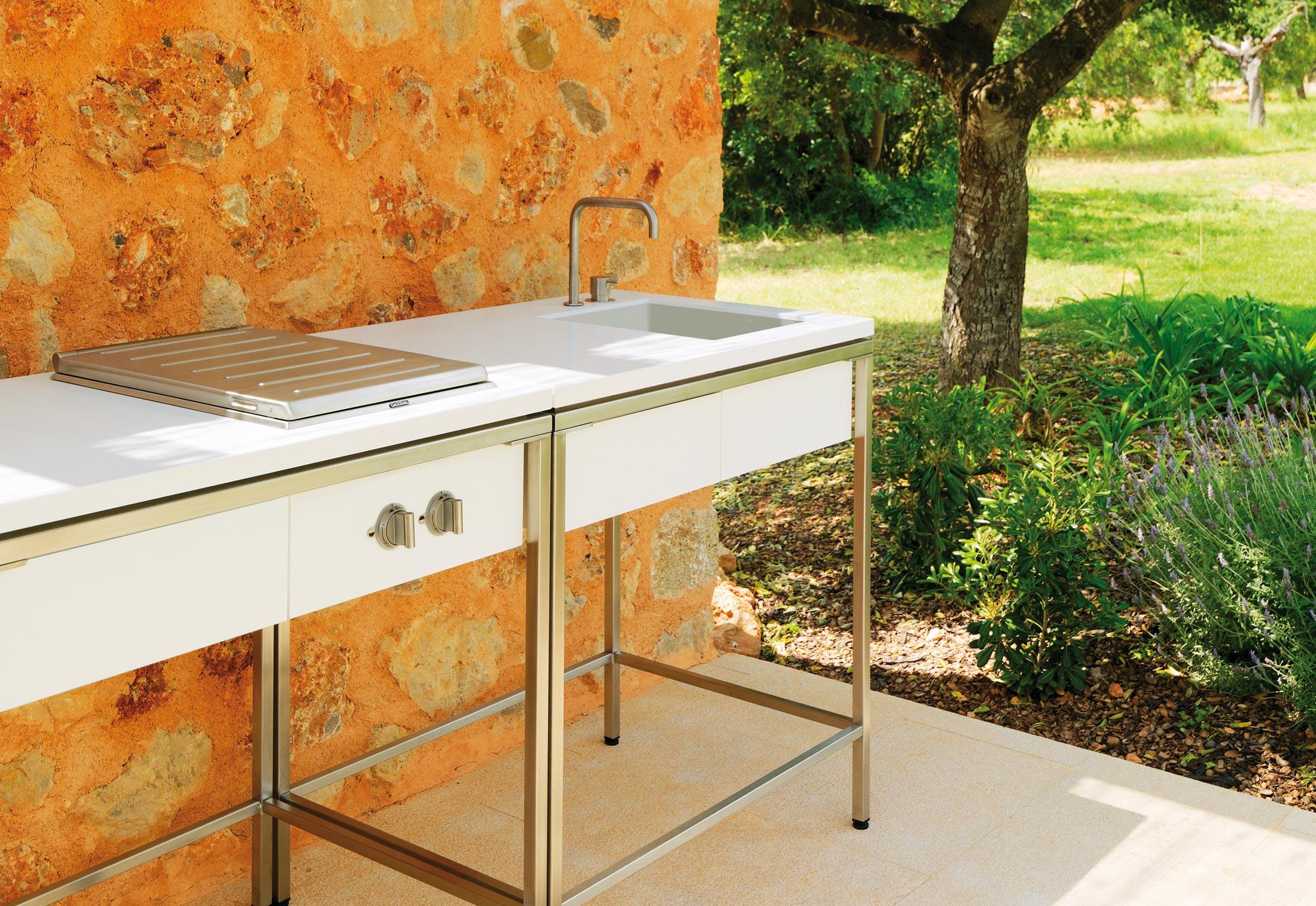 Outdoor Kitchen Sink  Outdoor Kitchen sink modul by VITEO