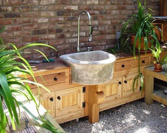 Outdoor Kitchen Sink  15 Most Outrageous Outdoor Kitchen Sink Station Ideas