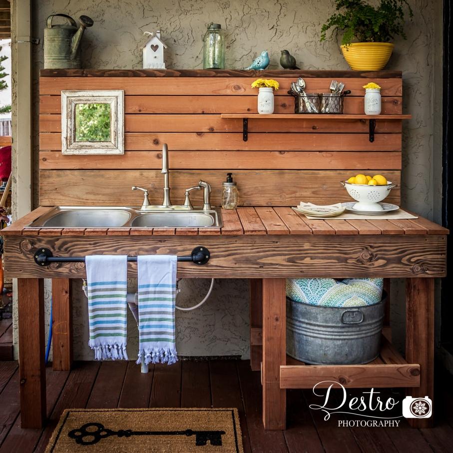 Outdoor Kitchen Sink  Outdoor Sink Destro graphy Project Destro