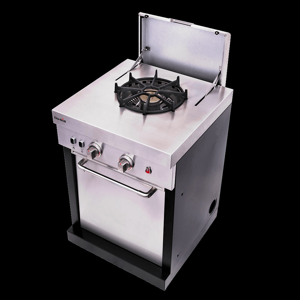 Outdoor Kitchen Stove  Char Broil Modular Outdoor Stove Top