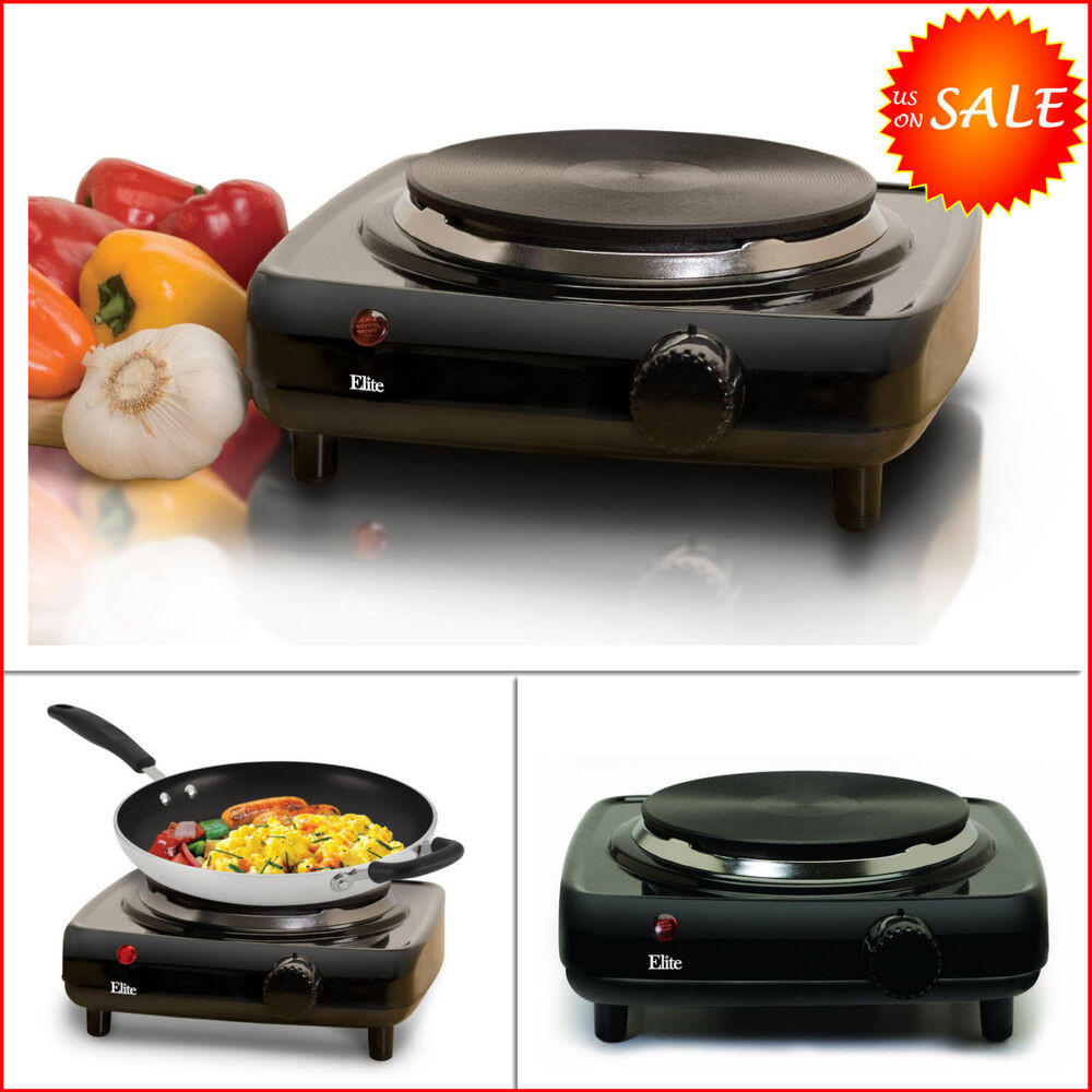 Outdoor Kitchen Stove  Single Buffet Burner Stove Electric Portable Hot Plate