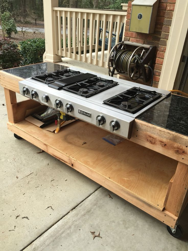 Outdoor Kitchen Stove  OUTDOOR COOKER I built an outdoor cooker so that I can use