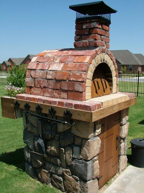 Outdoor Pizza Oven Plans DIY  The Moon Family DIY Wood Fired Pizza Oven in Oklahoma by