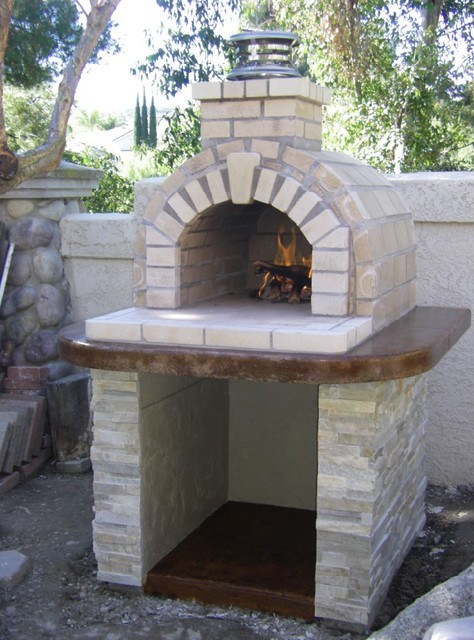 Outdoor Pizza Oven Plans DIY  The Schlentz Family DIY Wood Fired Brick Pizza Oven by