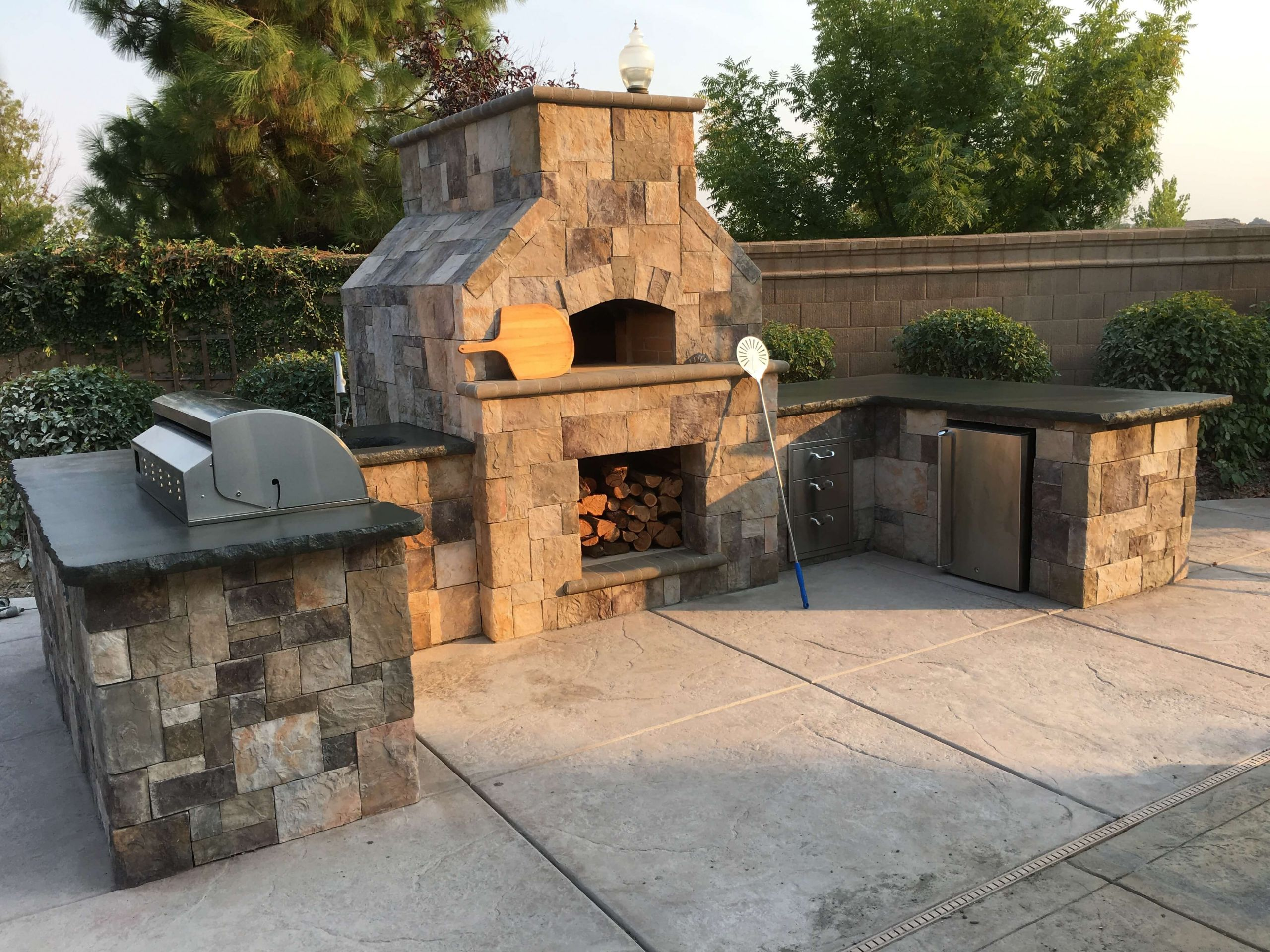 Outdoor Pizza Oven Plans DIY  Forno Toscano Pizza Oven