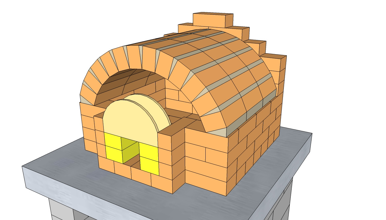 Outdoor Pizza Oven Plans DIY  Outdoor Pizza Oven Plans