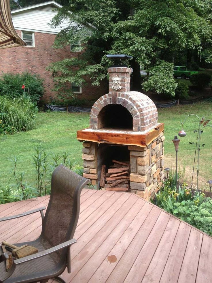 Outdoor Pizza Oven Plans DIY  Diy Outdoor Pizza Oven Plans Home Romantic