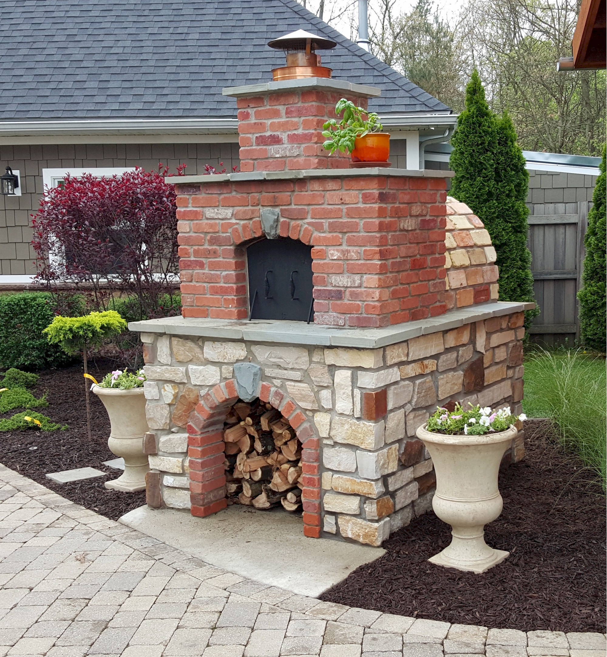 Outdoor Pizza Oven Plans DIY  DIY Wood Fired Outdoor Brick Pizza Ovens Are Not ly Easy