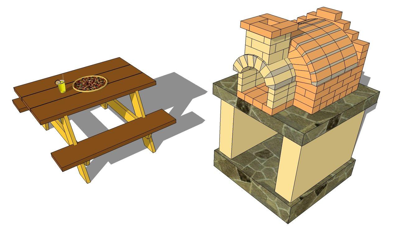 Outdoor Pizza Oven Plans DIY  Outdoor Pizza Oven Plans