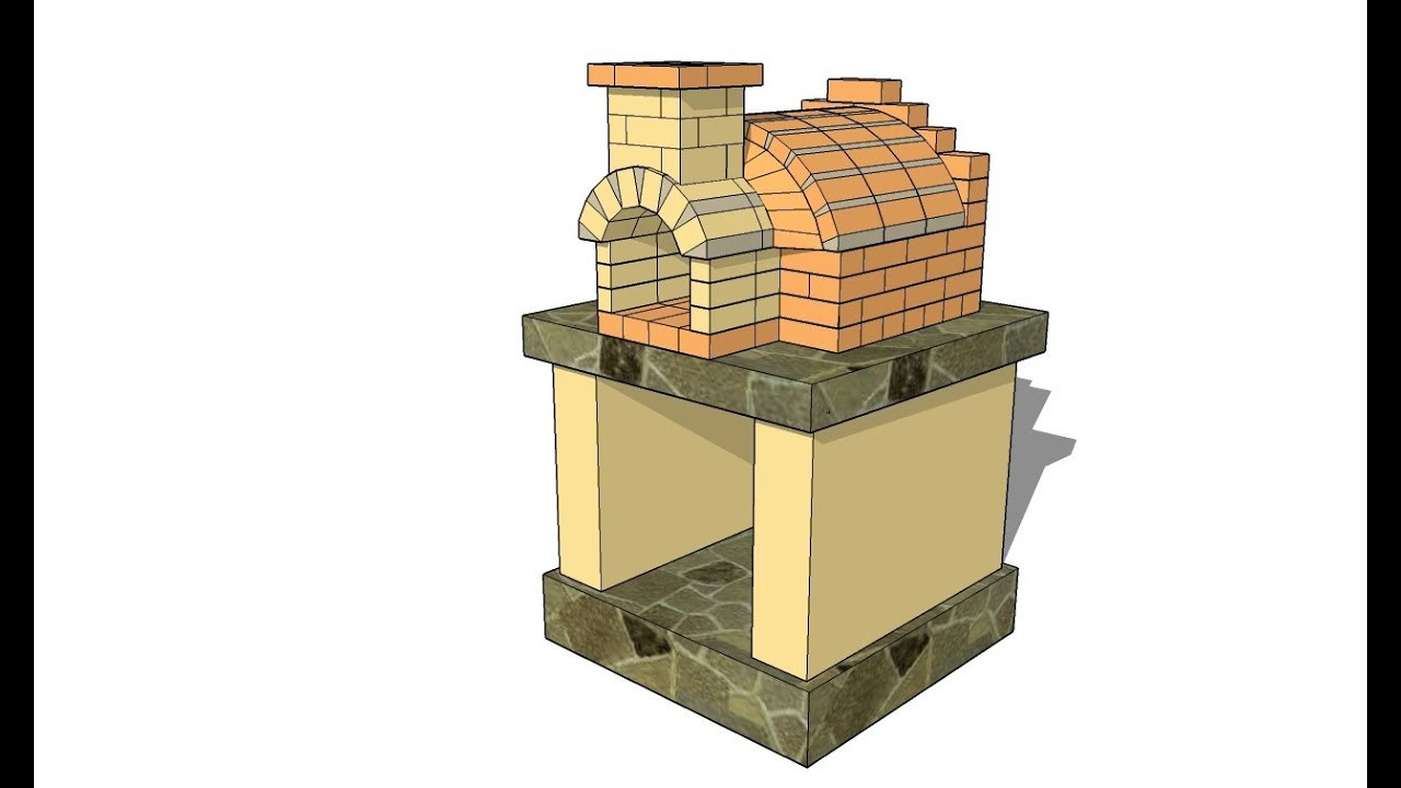 Outdoor Pizza Oven Plans DIY  Free Pizza Oven Plans
