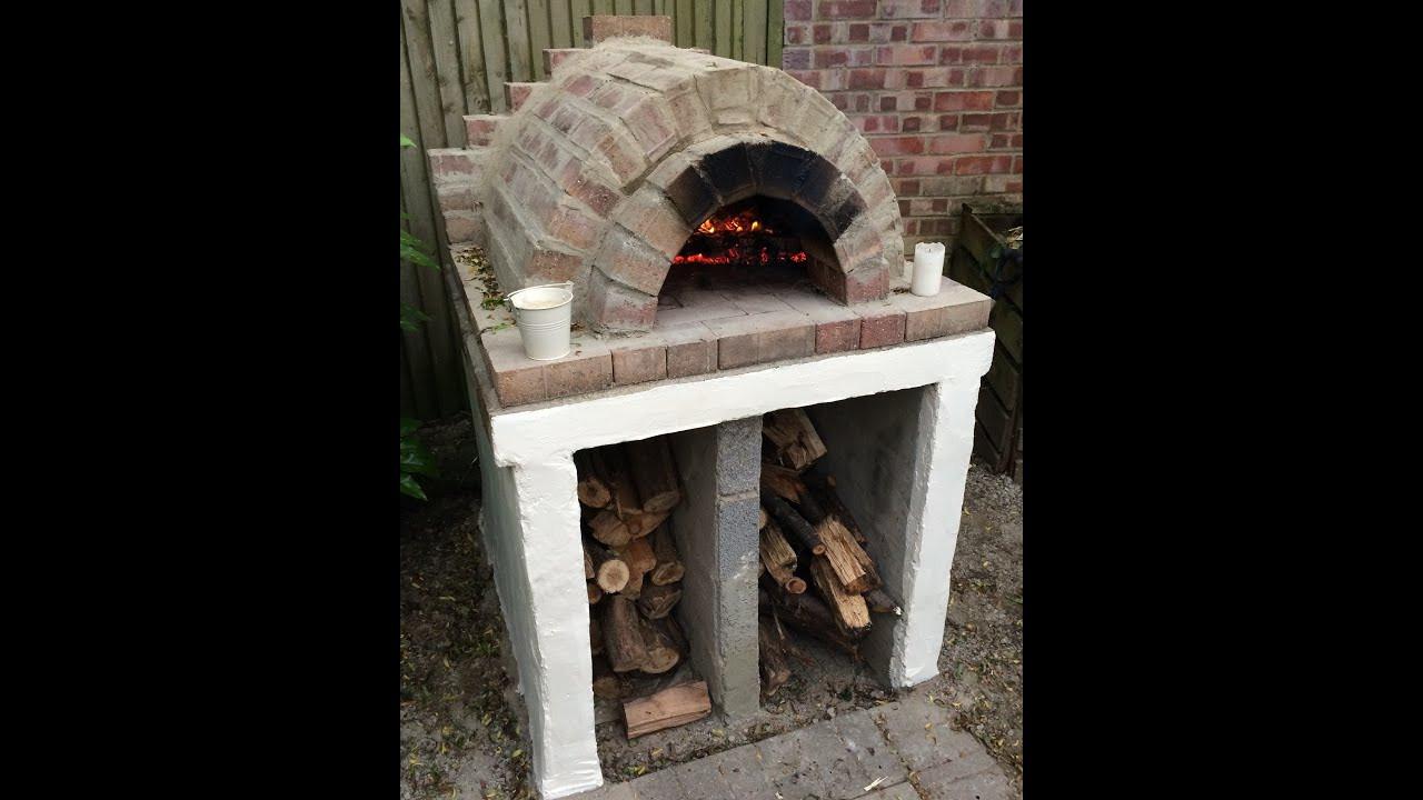 Outdoor Pizza Oven Plans DIY  Homemade Easy Outdoor Pizza Oven DIY