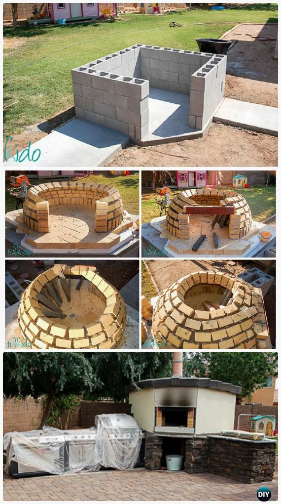 Outdoor Pizza Oven Plans DIY  Build A Pizza Oven At Home