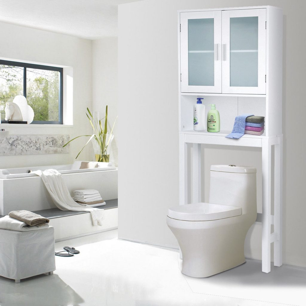 Over The Toilet Bathroom Cabinets  Buy Cheap Wooden Over The Toilet Storage Cabinet