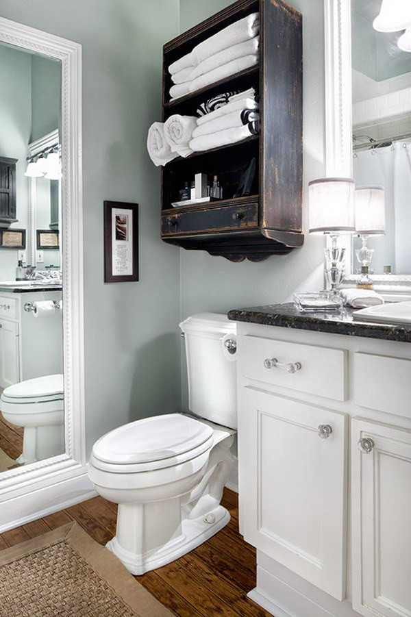 Over The Toilet Bathroom Cabinets  Over The Toilet Storage Ideas For Extra Space 2017