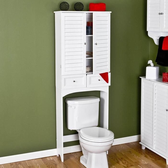 Over The Toilet Bathroom Cabinets  White Over The Toilet Cabinet