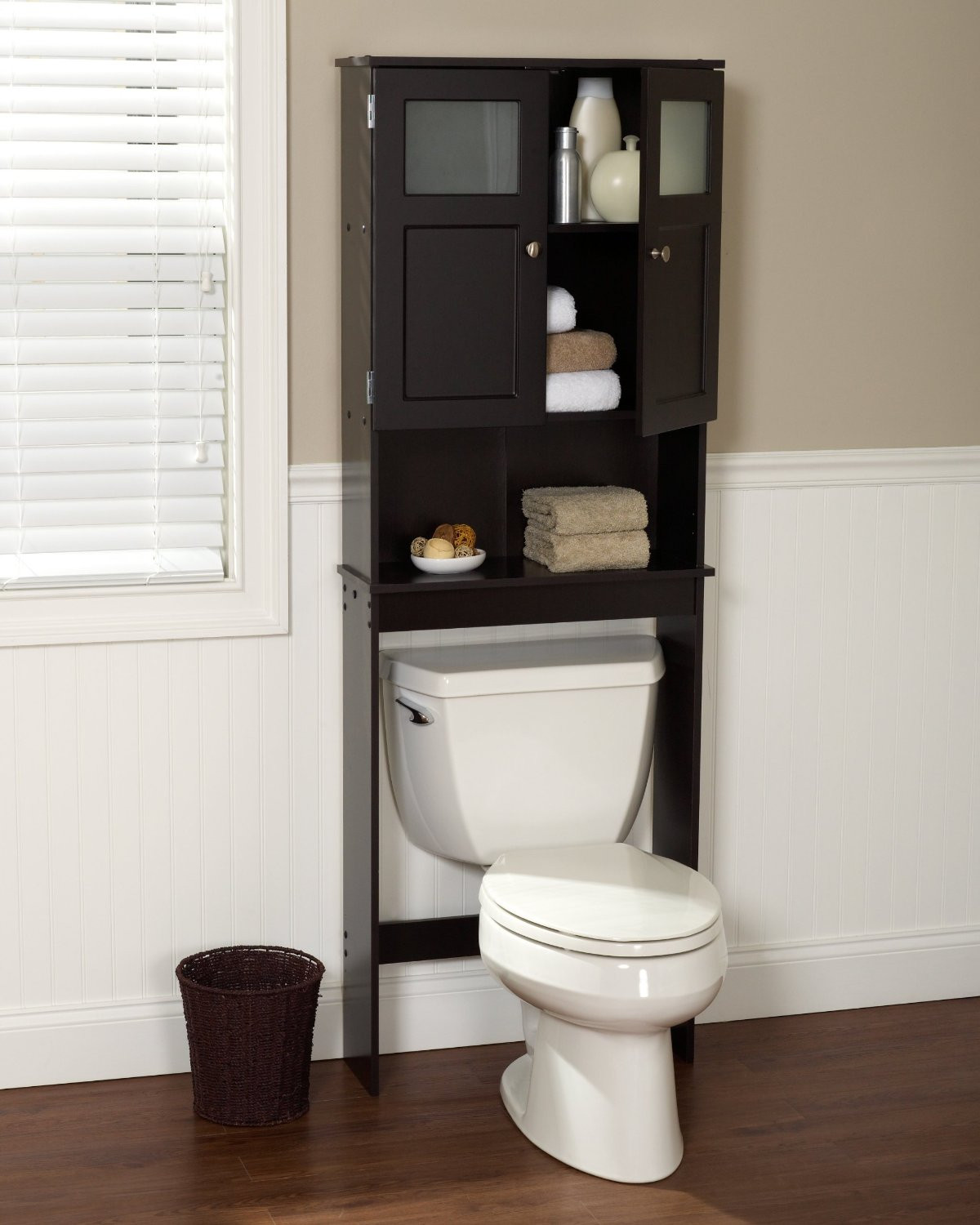 Over The Toilet Bathroom Cabinets  The Best Over The Toilet Storage Options 2017